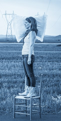 Arleen Thibault photo en pieds